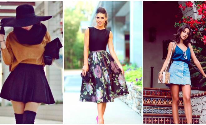 Faldas de ensueño para las chicas más románticas