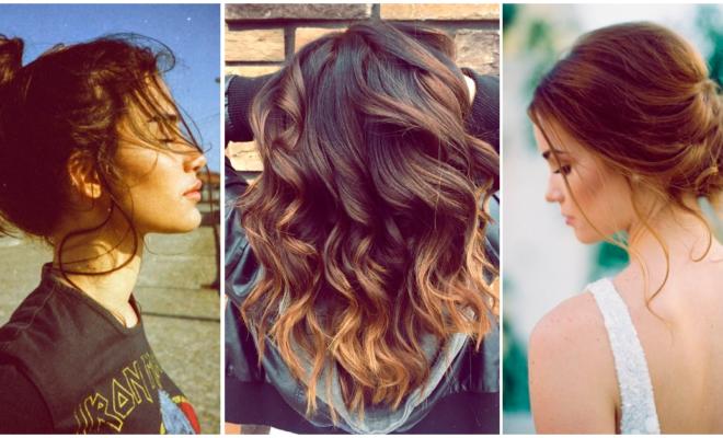 ¡Peinados para lucir preciosa en otoño!
