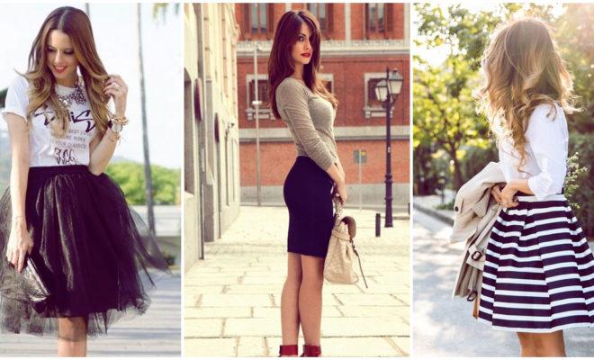 Faldas que te harán lucir mucho más curvilínea de lo que eres