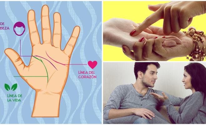 ¡Aprende a leer la mano de tu pareja y conócela a fondo!