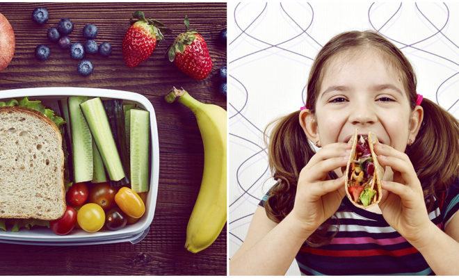 El lunch ideal para tus pequeños
