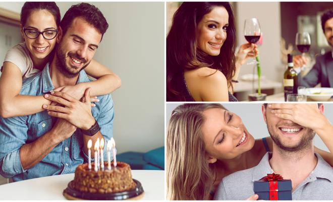 5 maneras en las que puedes consentir a tu pareja en su cumpleaños