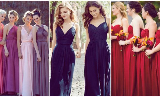 Cómo elegir el vestido de tus damas de honor