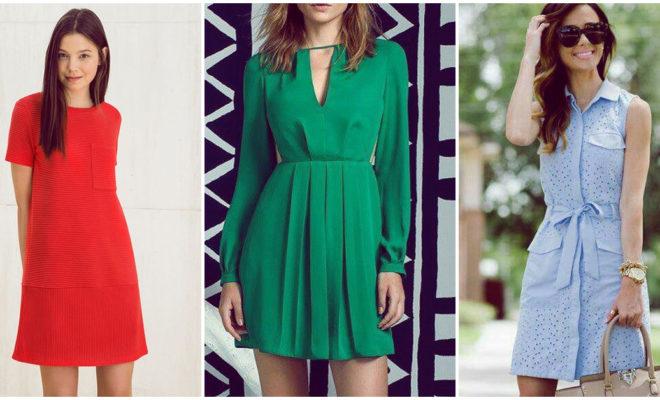 Selección de vestidos para ir a la oficina ¡y estar a la moda!