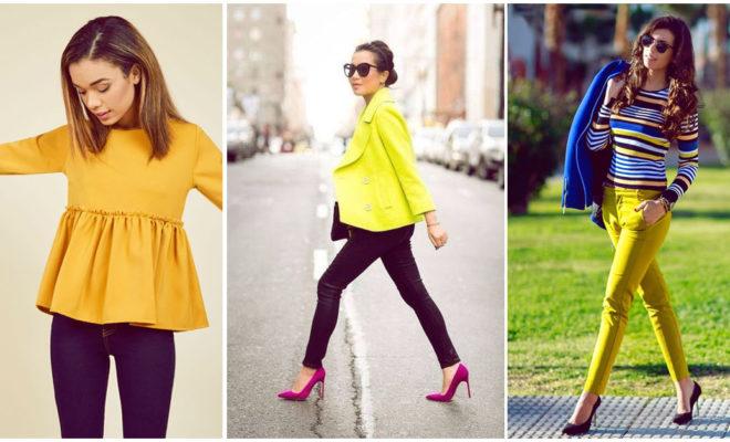 Amas el amarillo, pero no sabes cómo usarlo en tus outfits; ¡yo te digo!