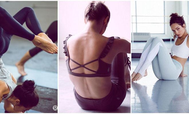 Los outfits más femeninos para ir a tu clase de yoga