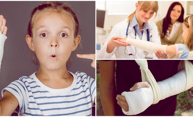 Si tu hijo se fractura, esto es lo que debes hacer…
