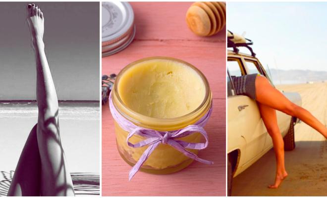 DIY crema depiladora con limón