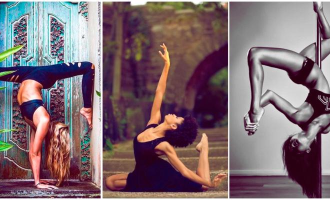 Qué tan flexible tienes que ser para practicar yoga o pole dance