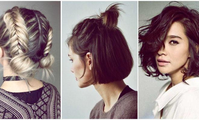 Sencillas ideas para peinar tu cabello corto