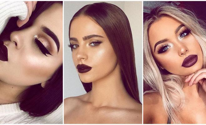 Maquillaje para combinar tus labios oscuros