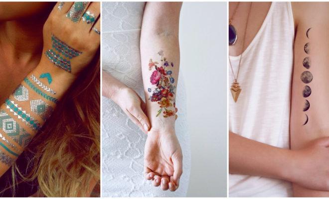Lindos tatuajes temporales que debes probar