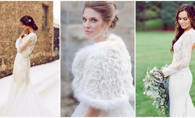 Vestidos de novia para invierno, ¡están increíbles! 👰