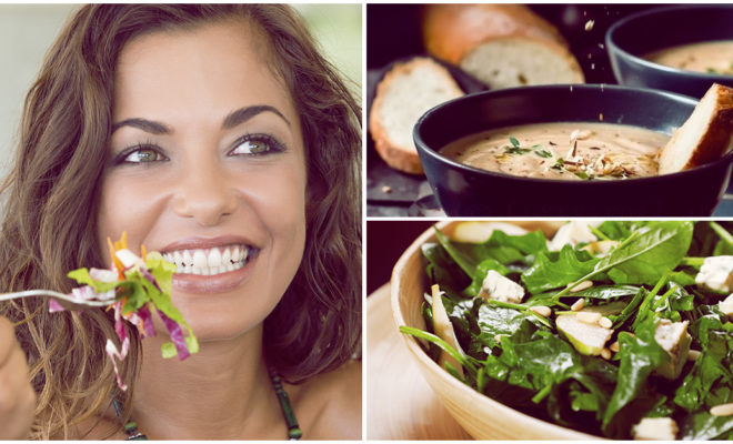 Cenas que te ayudarán a bajar de peso sin que lo notes