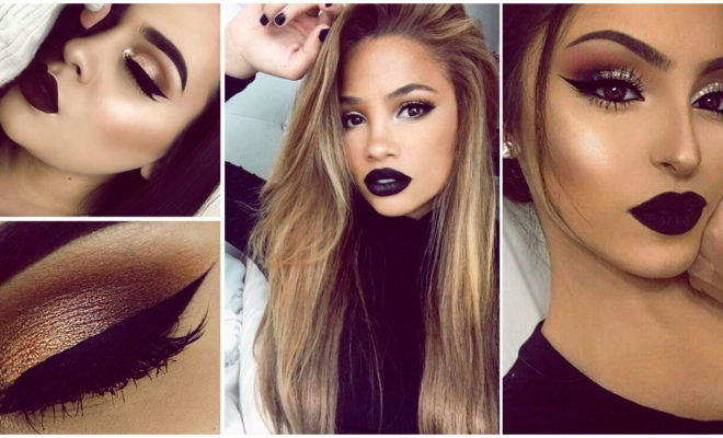 Makeup apto para labios negros que no es un disfraz