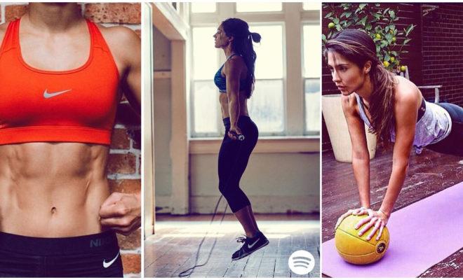 8 minutos de ejercicio al día pueden mejorar el tono de tu abdomen