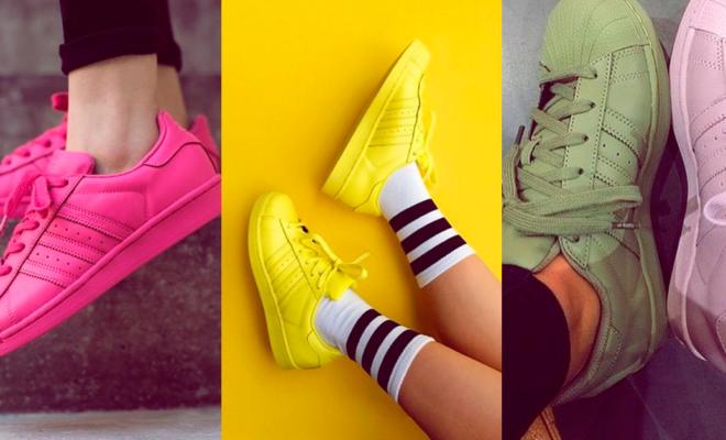 Tenis de colores extravagantes: ¿cómo combinarlos de la mejor forma?