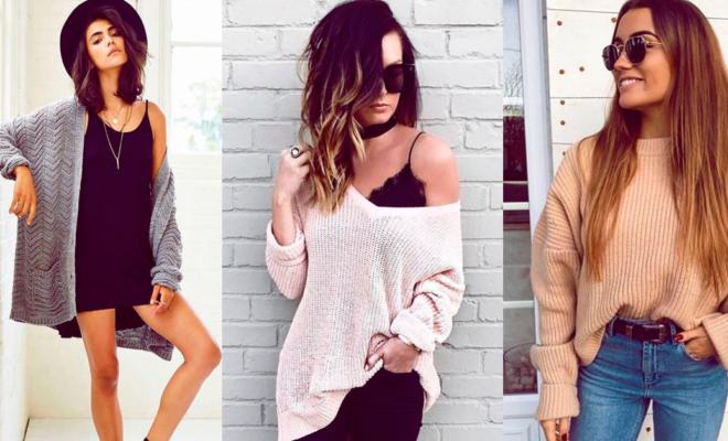 Jerseys para estar cómoda y a la moda