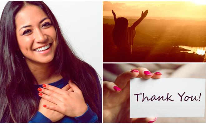 Soltar y dar gracias… la técnica que te convertirá en una mujer más feliz