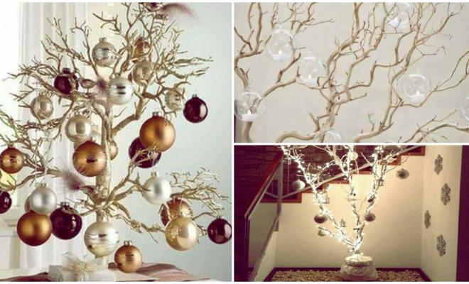 Ideas fuera de lo común para adornar tu casa sin pino navideño