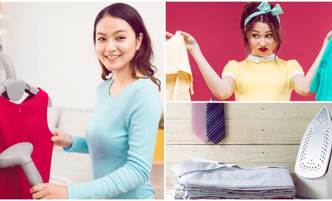 ¡S. O. S!, alternativas para planchar tu ropa cuando no tienes plancha