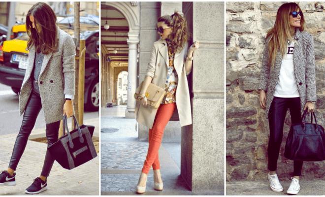 Cómo llevar tu pantalón con abrigo esta temporada