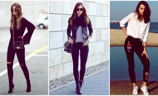 Reinventa tu estilo con ayuda de unos pantalones negros
