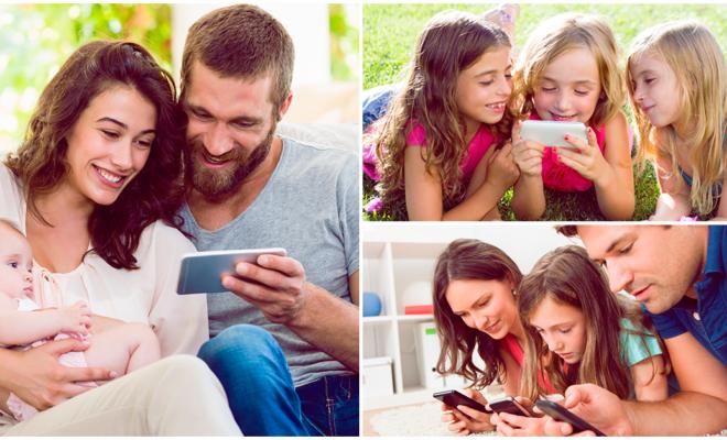 Esta es la edad correcta para darle a tu hijo un smartphone