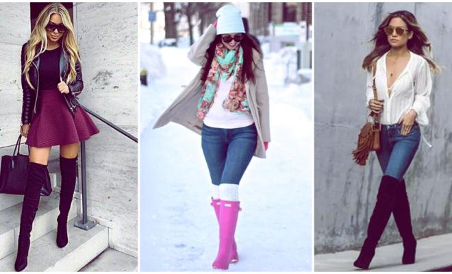 7 outfits con botas para lucir increíble esta temporada