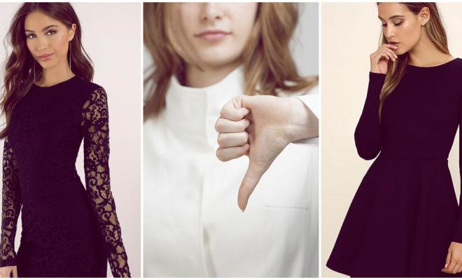 7 excelentes razones por las que no deberías usar un vestido negro en Navidad
