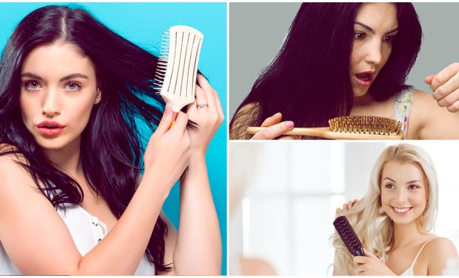 ¡Ups!, al parecer estás cepillando tu cabello de forma incorrecta