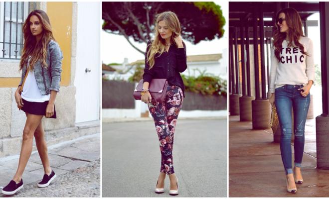 Outfits sencillos para las que no nos arreglamos tanto, ¡listas en un dos por tres!