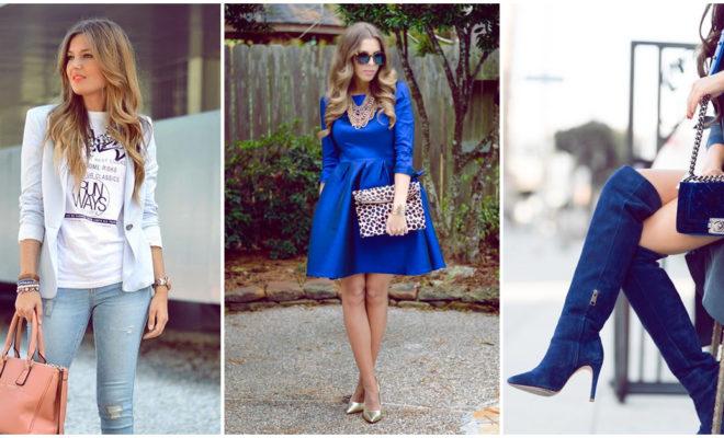 Prendas azules que deberían vivir contigo 💙