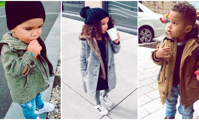 Razones por las que deberías dejar a tus niños chiquitos vestirse como quieran