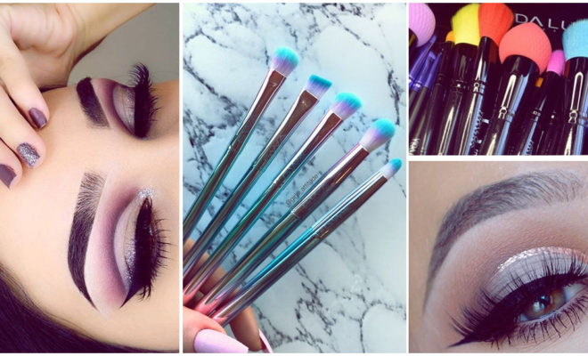 Brochas de makeup básicas para aplicar tus sombras