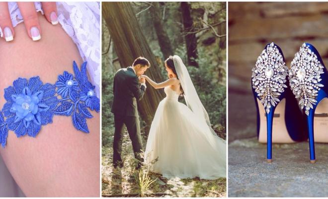 Cómo incluir el something blue en tu boda