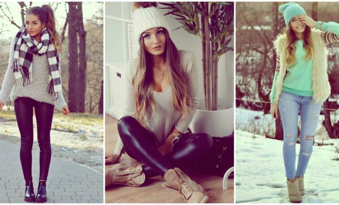 Aprende a usar tus botines en invierno