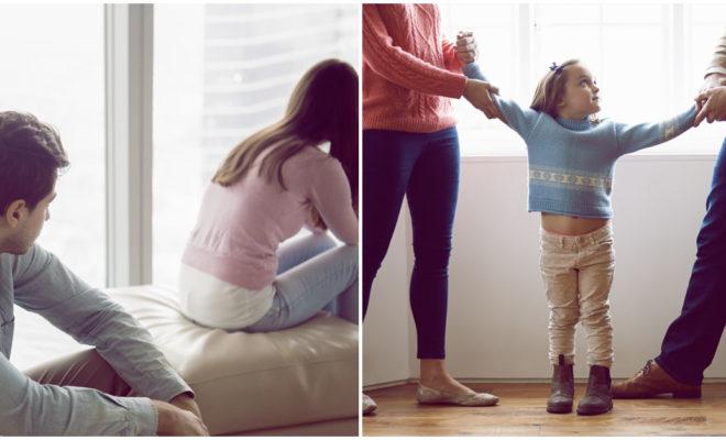 Ver los problemas de mamá y papá puede ayudar a tus hijos
