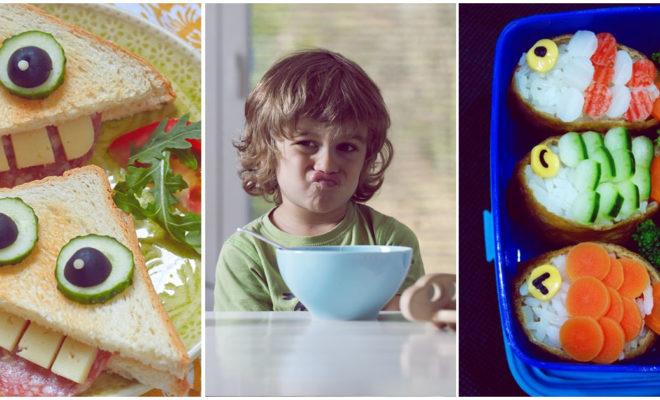 Trucos para que tus hijos coman sin crearte dolores de cabeza