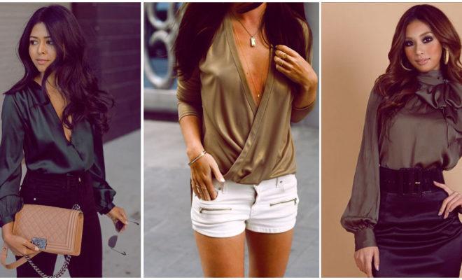Camisas de seda: ¡la prenda que vas a ver por todos lados!