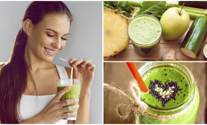 Bebidas verdes que debes tomar si quieres quemar grasa ¡super rápido!