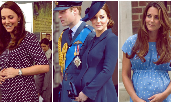 Looks de maternidad de Kate Middleton que tal vez quieras copiar