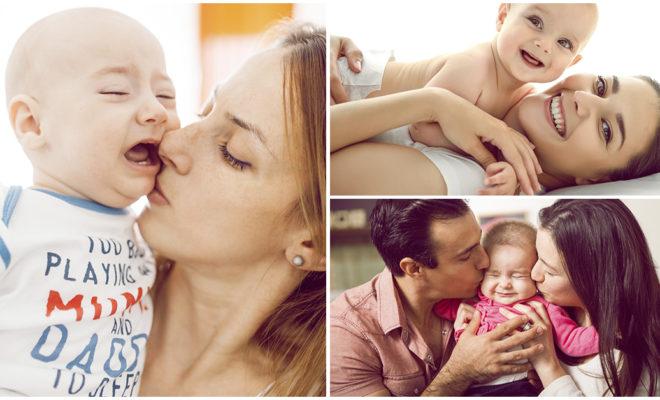 ¿Besar o no a tu hijo en la boca?, los psicólogos dicen que….
