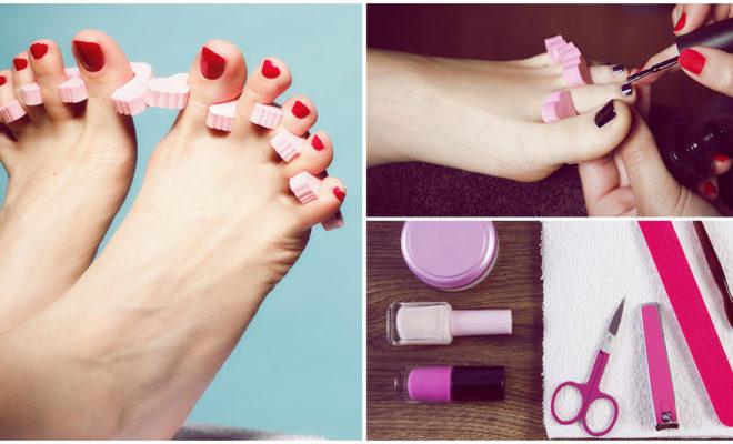 Cómo hacerte un pedicure en casa para mantener tus pies suaves
