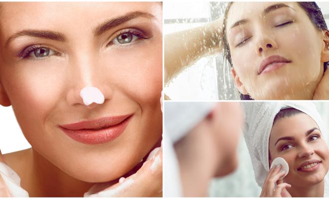4 cosas que debes saber si lavas tu rostro en la ducha
