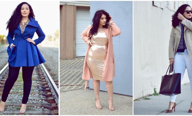 Los abrigos más lindos para chicas curvy; ¡me encantaron!