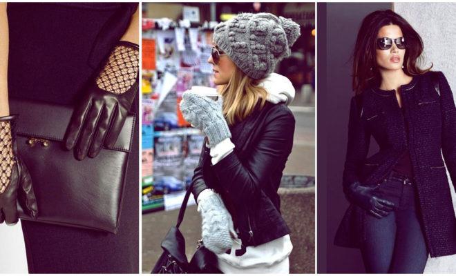 Guantes a la moda para mantener tus manos calientitas esta temporada