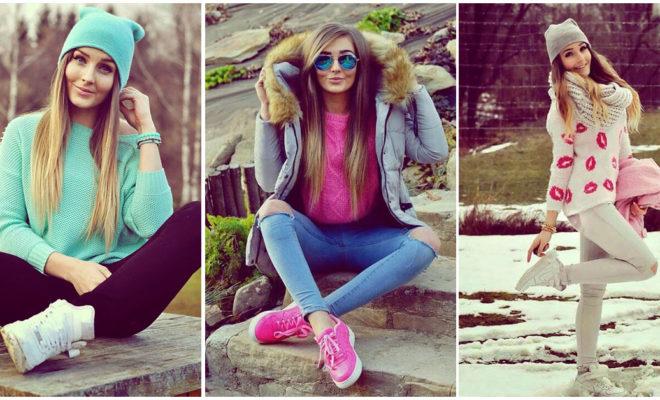 Outfits invernales para las chicas más románticas