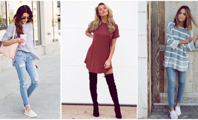 Outfits ideales para usar cuando no te sientes cómoda con tu figura