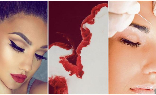 Este tratamiento de belleza necesita sangre 😵😳😱